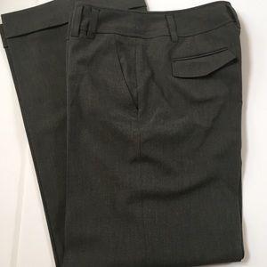 MICHAEL KORS GRAY CAREER PANTS 32 X 32 MILLBROOK